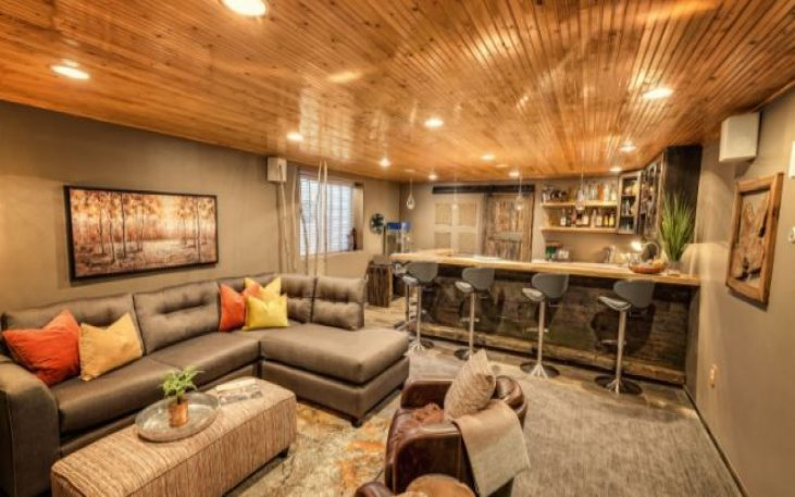 Cost To Finish Basement Remodels Beckworth Llc Remodeling
